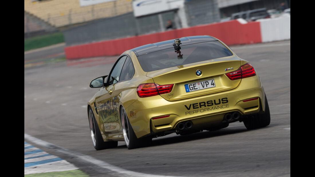 Versus BMW M4 Coupé, Heckansicht