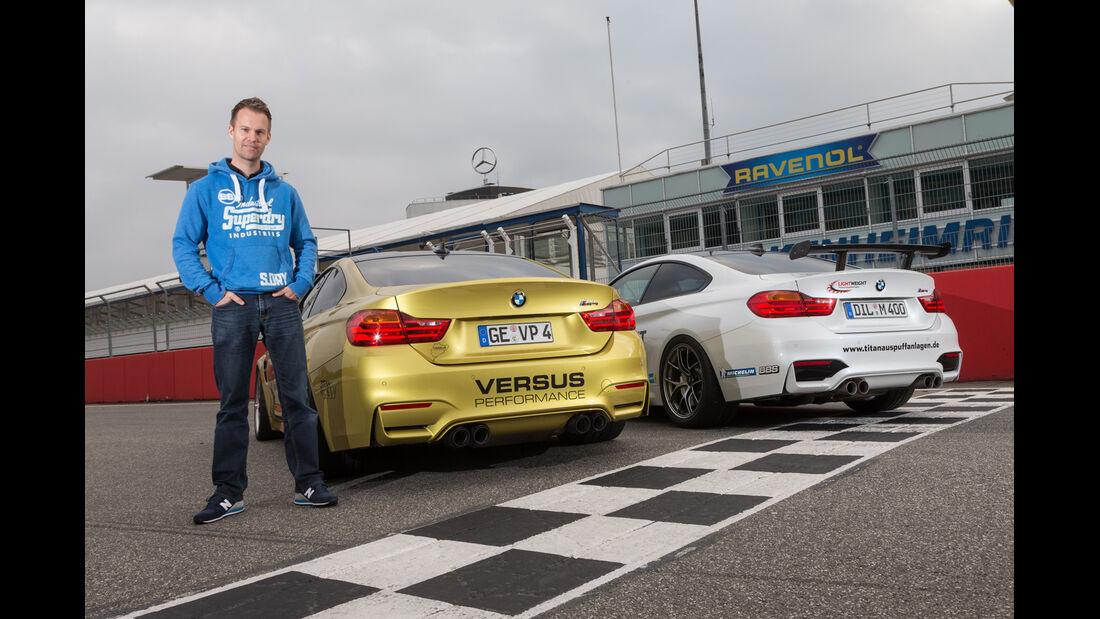 Versus BMW M4 Coupé, Lightweight BMW M4 Coupé, Christian Gebhardt