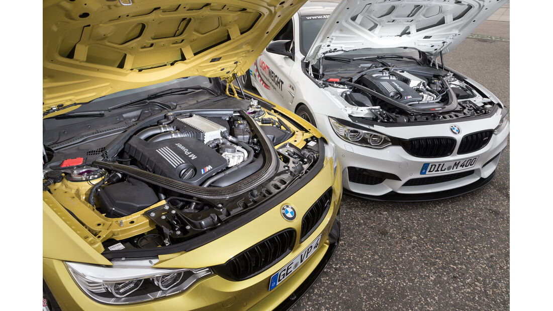 Versus BMW M4 Coupé, Lightweight BMW M4 Coupé, Motor