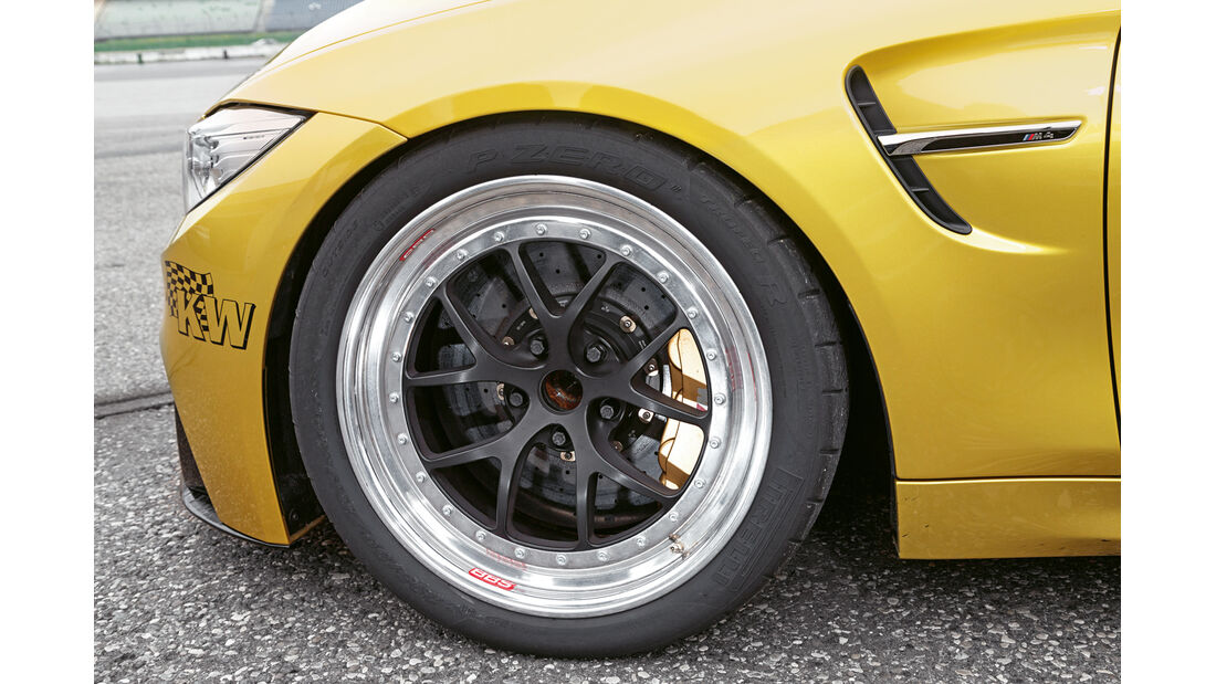 Versus BMW M4 Coupé, Rad, Felge