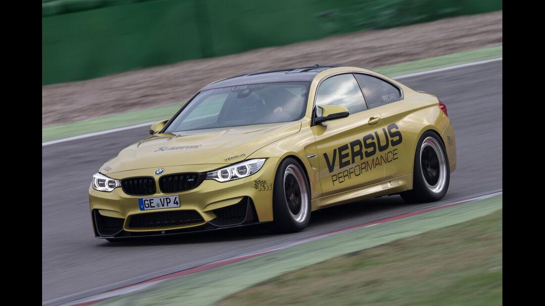 Versus BMW M4 Coupé, Seitenansicht