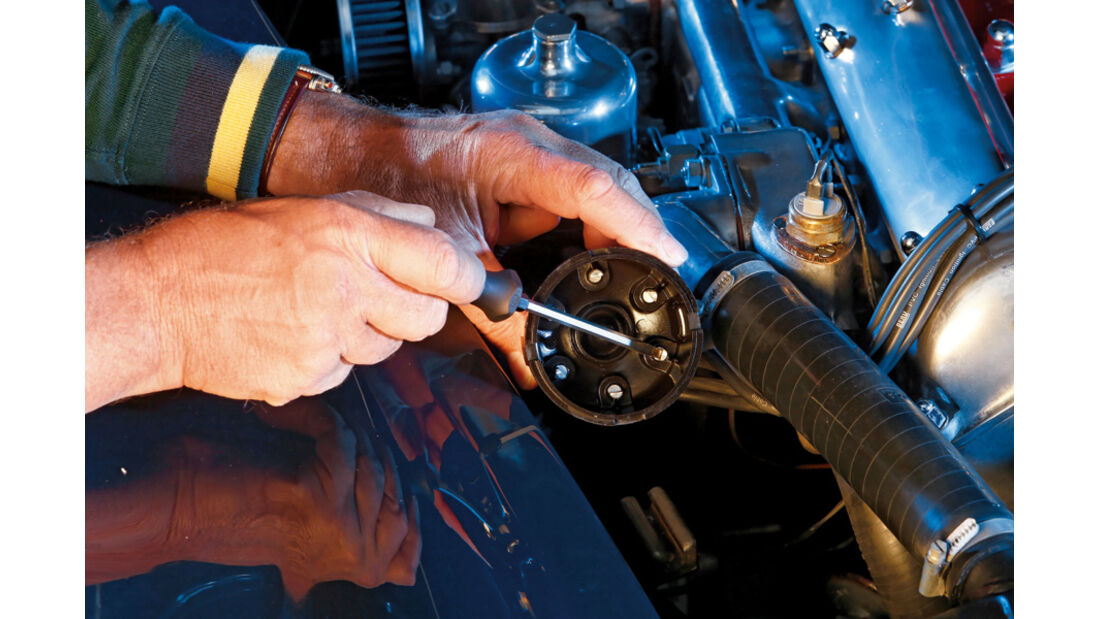Verteilerdeckel, Jaguar XK