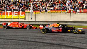 Vetetl & Ricciardo - GP China 2018