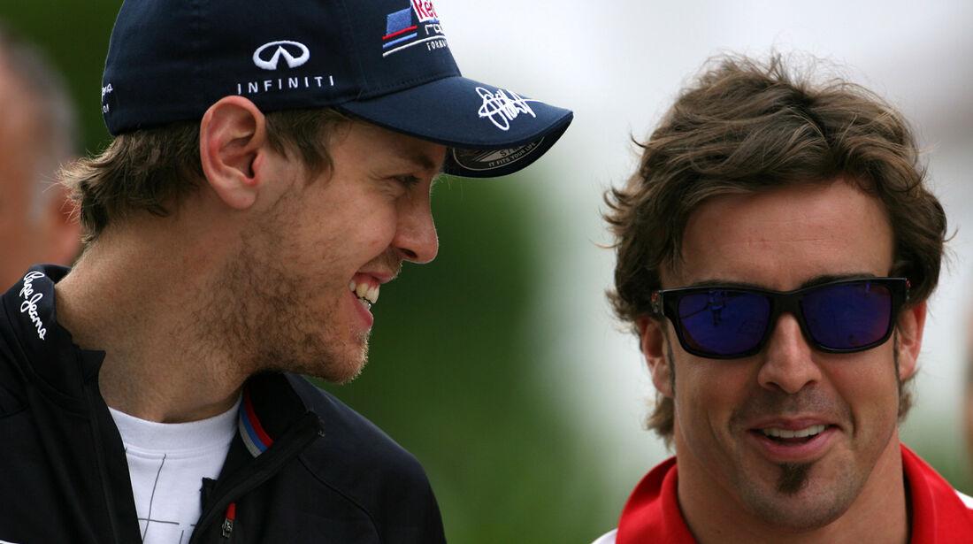 Vettel Alonso GP Malaysia 2012
