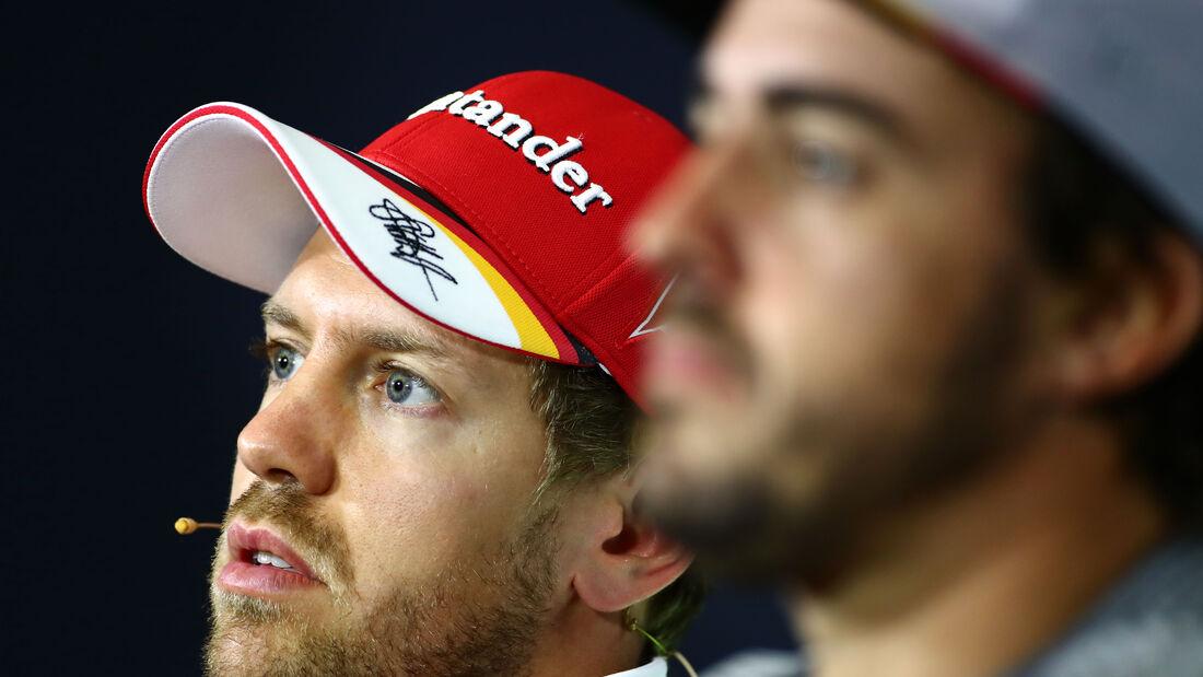 Vettel & Alonso - GP Spanien 2017