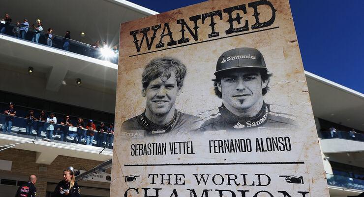Vettel Alonso GP USA 2012