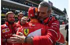 Vettel - Arrivabene - Ferrari - GP Mexiko 2017 - Qualifying