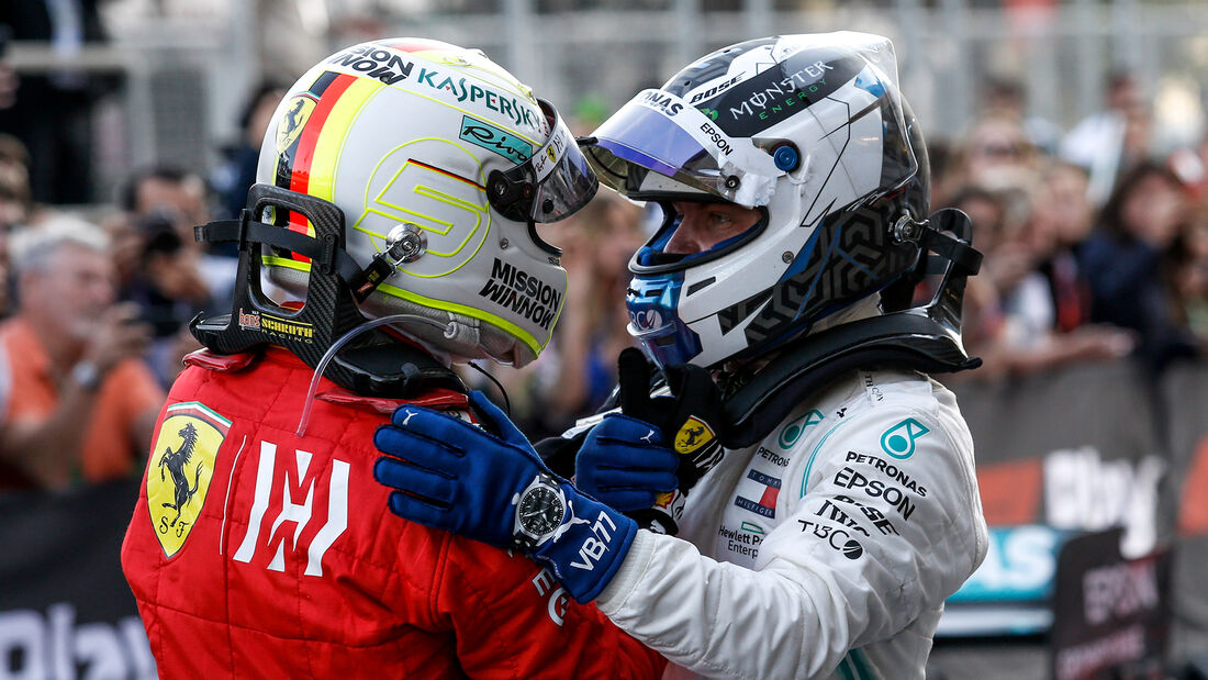 Vettel & Bottas - Formel 1 - GP Aserbaidschan 2019