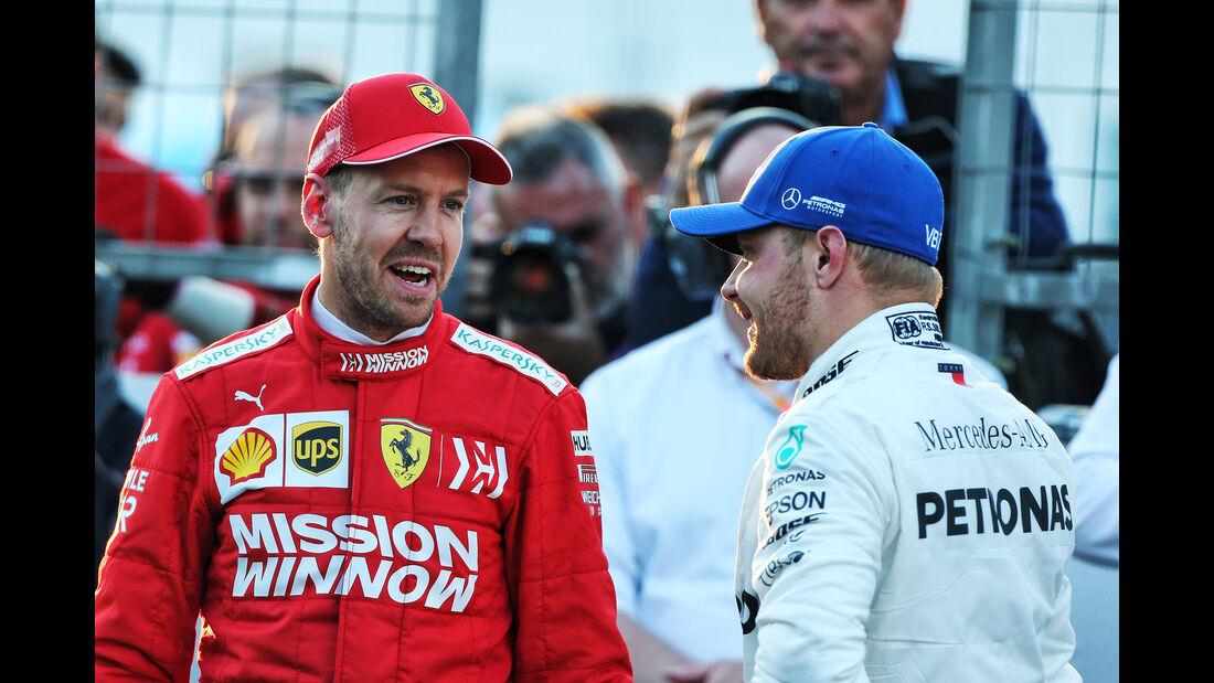 Vettel & Bottas - Formel 1 - GP Aserbaidschan - 27. April 2019