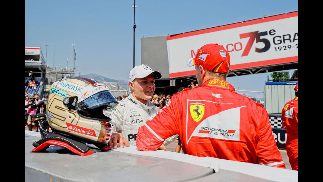 Vettel & Bottas - Formel 1 - GP Monaco - 27. Mai 2017