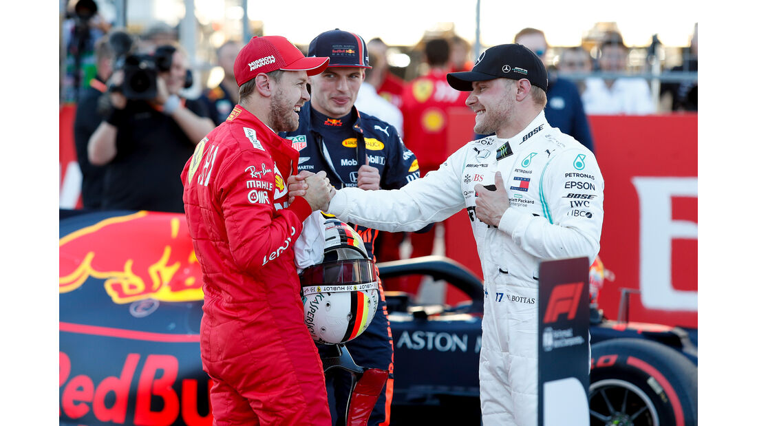Vettel & Bottas  - Formel 1 - GP USA - Austin - 2. November 2019