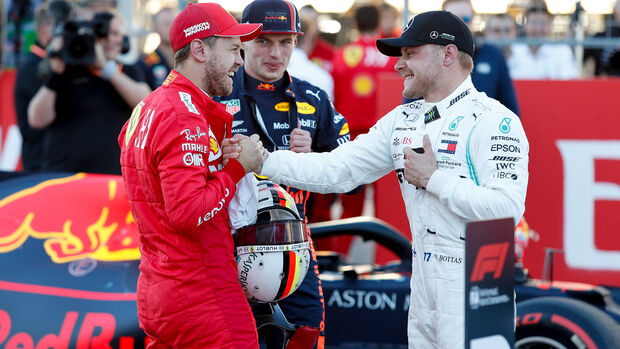 Vettel & Bottas  - Formel 1 - GP USA - Austin - 2. November 2019