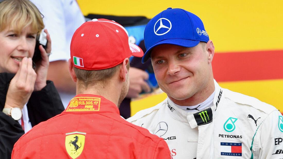 Vettel & Bottas - GP Frankreich 2018