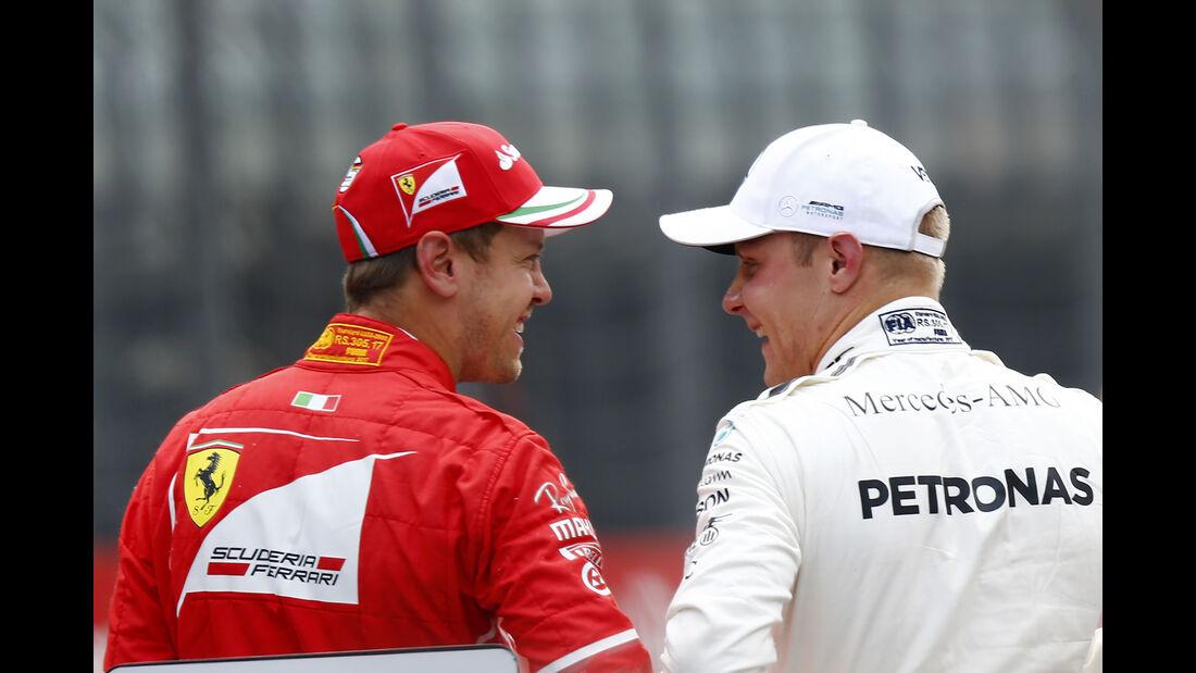 Vettel & Bottas - GP Österreich 2017
