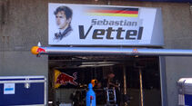 Vettel-Box - Formel 1 - GP Kanada - 7. Juni 2012
