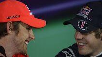 Vettel Button Formel 1 GP China 2011