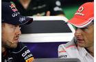 Vettel & Button - GP Brasilien 2013