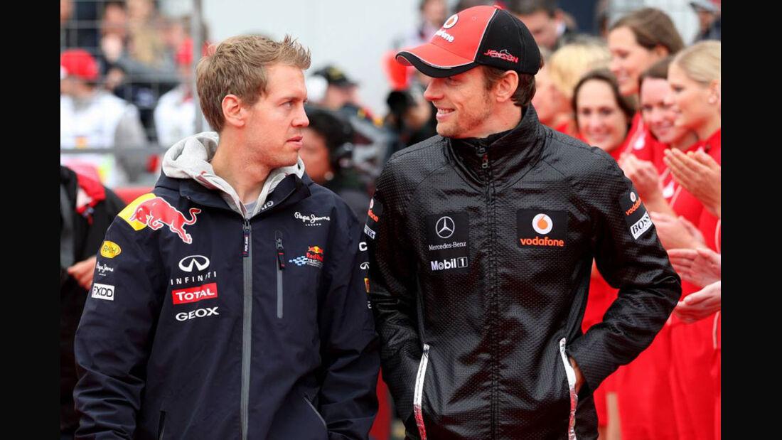 Vettel Button GP Deutschland 2011