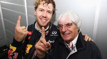 Vettel & Ecclestone GP Brasilien 2012