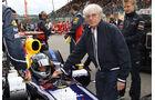 Vettel & Ecclestone Rennen GP Belgien 2011