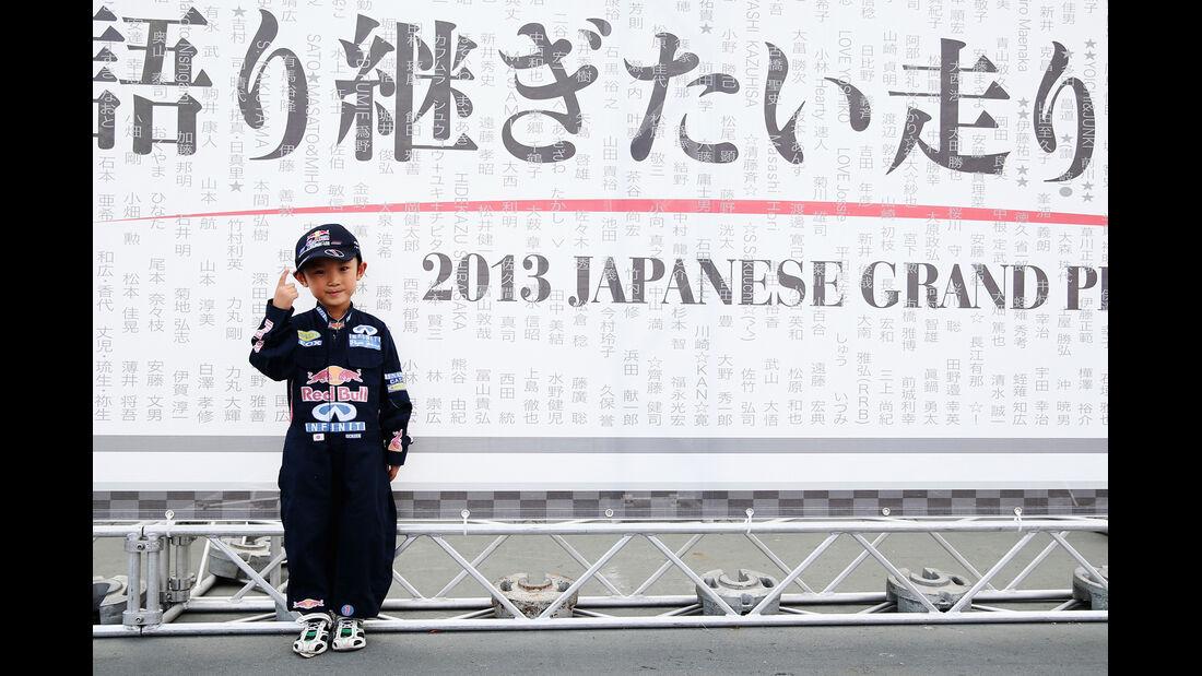 Vettel-Fan - Formel 1 - GP Japan - 10. Oktober 2013