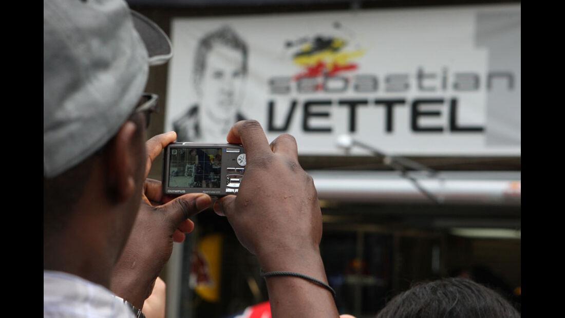 Vettel-Fan GP Kanada 2011