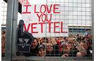 Vettel-Fans GP England Silverstone 2012
