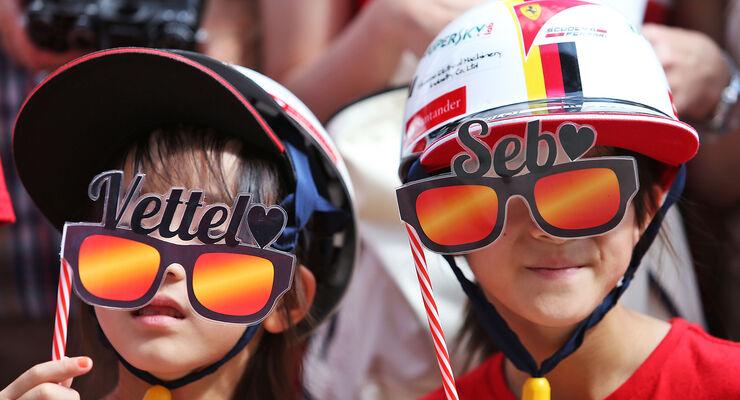Vettel-Fans - GP Japan 2016