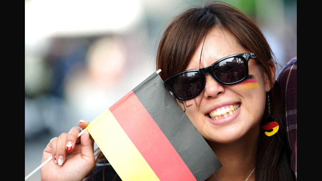 Vettel-Fans - GP Singapur 2014