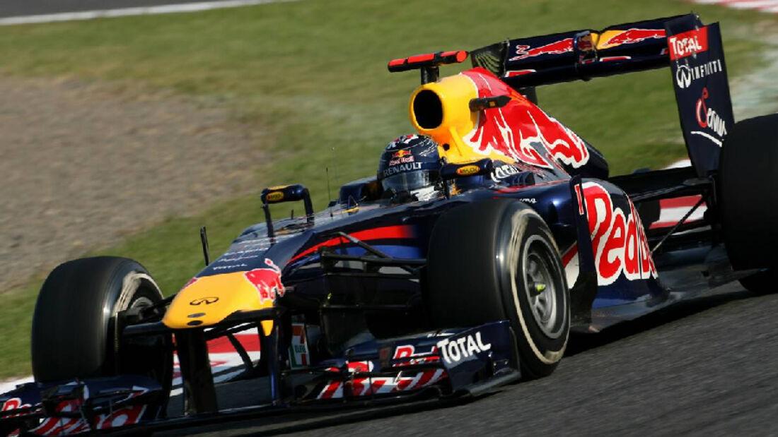 Vettel  - Formel 1 - GP Japan - 07. Oktober 2011