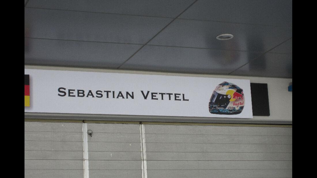 Vettel - Formel 1 - GP Korea - 13. Oktober 2011