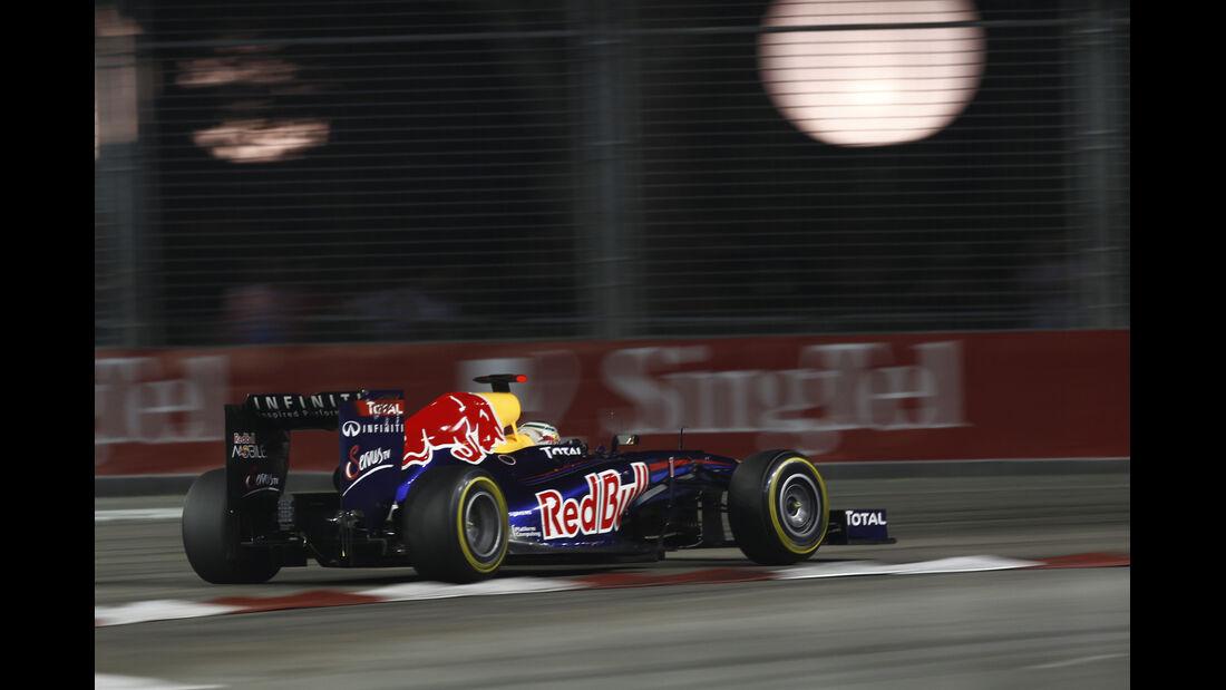Vettel GP Singapur 2011