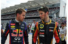 Vettel & Grosjean - Formel 1 - GP USA - 16. November 2013