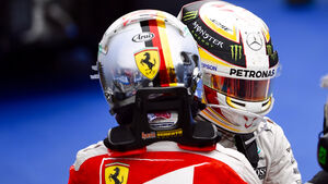 Vettel & Hamilton - F1 2016