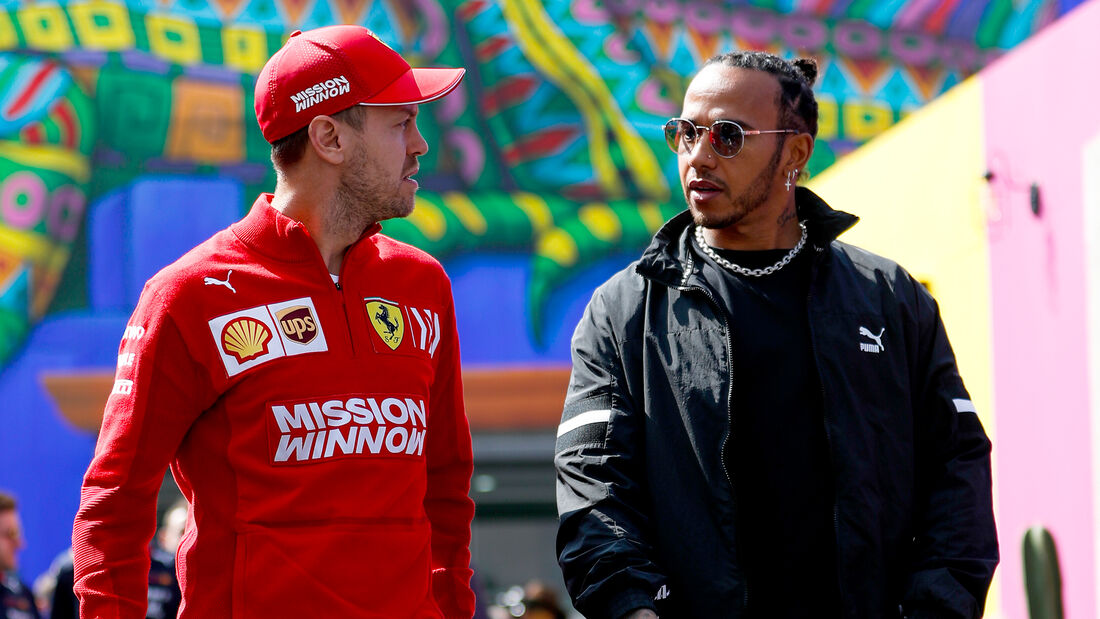 Vettel & Hamilton - Formel 1 - GP Mexiko - 24. Oktober 2019
