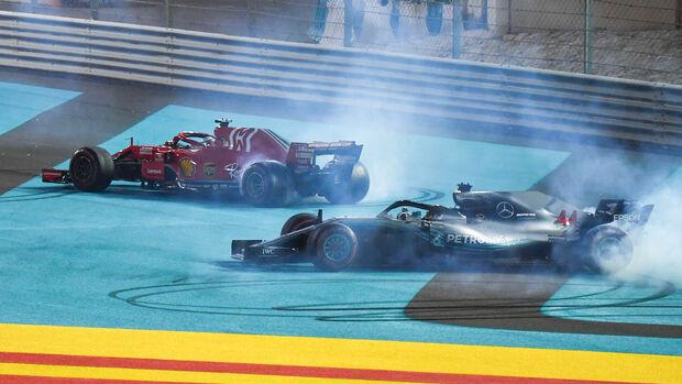 Vettel & Hamilton - GP Abu Dhabi 2018