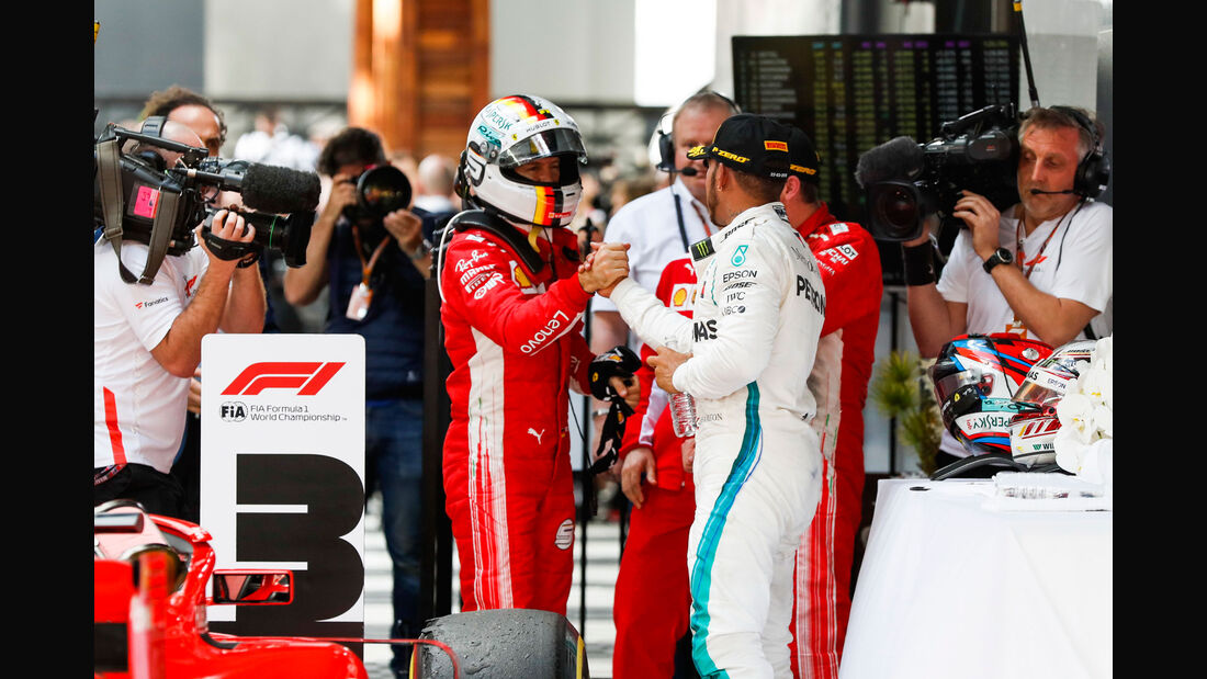 Vettel - Hamilton - GP Australien 2018 - Melbourne - Rennen