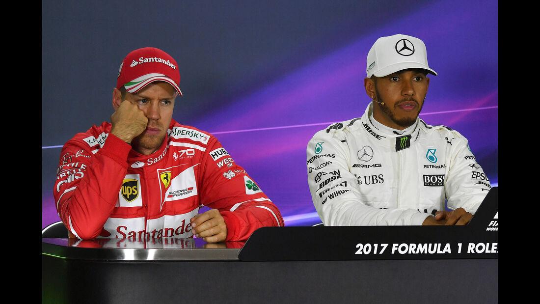 Vettel & Hamilton - GP Australien - Melbourne - 25. März 2017