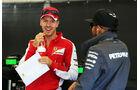 Vettel & Hamilton - GP Belgien 2015