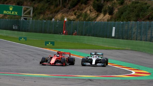Vettel - Hamilton - GP Belgien 2019 - Spa-Francorchamps
