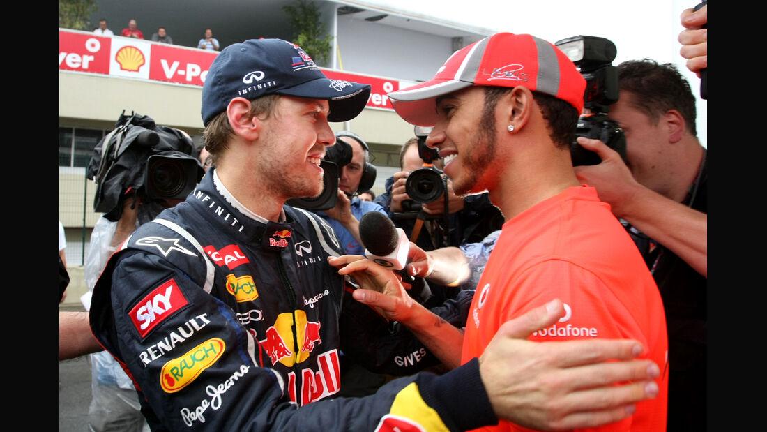 Vettel & Hamilton GP Brasilien 2012