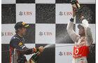 Vettel Hamilton GP China 2011