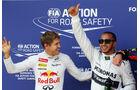 Vettel & Hamilton - GP Deutschland 2013