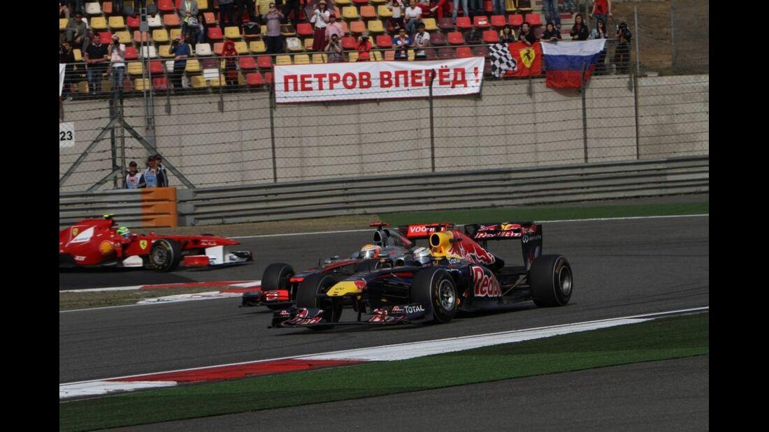 Vettel Hamilton GP Formel 1 GP China 2011