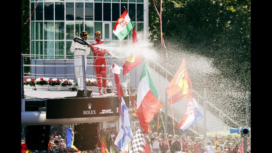 Vettel & Hamilton - GP Italien 2017