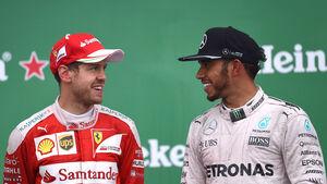 Vettel & Hamilton - GP Kanada 2016