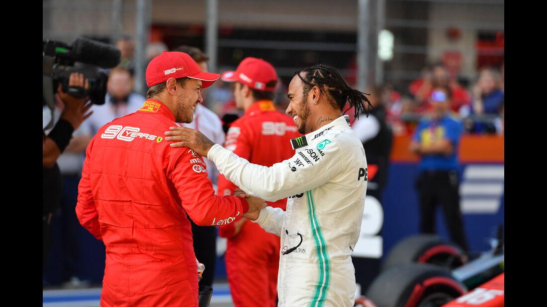 Vettel - Hamilton - GP Russland 2019 - Sotschi - Qualifying