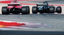 Vettel - Hamilton - GP USA 2017 - Qualifying