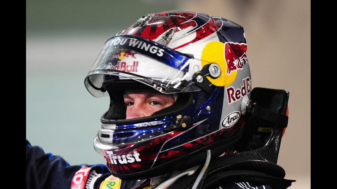 Vettel Helm GP Brasilien 2009