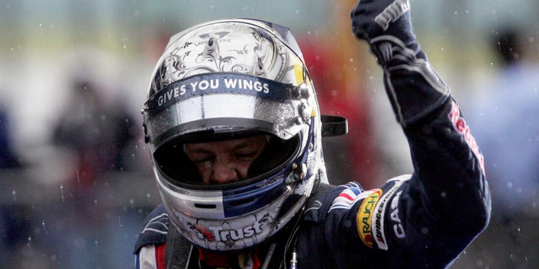 Vettel Helm GP China 2009